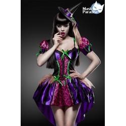 Costum Vrajitoare Sexy rochie halloween accesorii teatru 0001
