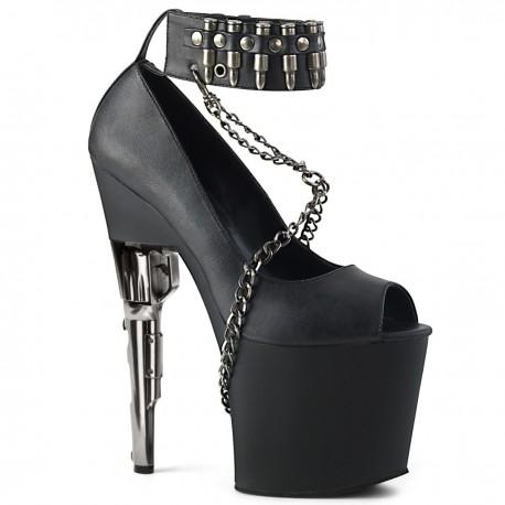 pantofi toc inalt revolver papuci dansatoare BONDGIRL 768
