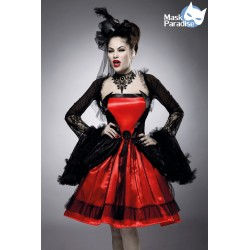 Costum vampir accesorii teatru rochie vrajitoare halloween 0043