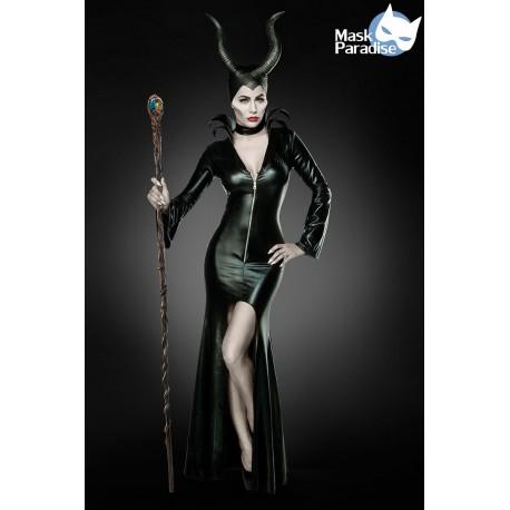 Costum Printesa Raului rochie halloween vrajitoare vampir accesorii teatru 0014