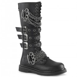 Ghete stil gotic 20 gauri demonia BOLT 450