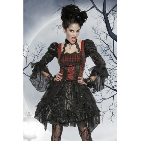 Costum Vampir rochie halloween accesorii teatru burlesque 2630