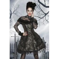 Costum Vampir rochie halloween gotic accesorii teatru 2629