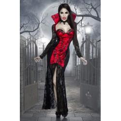 Costum vampir rochie oktoberfest gotic accesorii teatru 3569