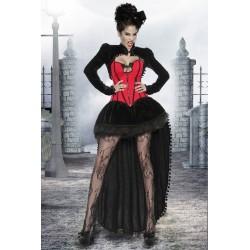 Costum Vampir rochie halloween accesorii recuzita teatru 2716