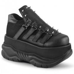 Pantofi demonia stil gotic holograma piele monstru NEPTUNE 50