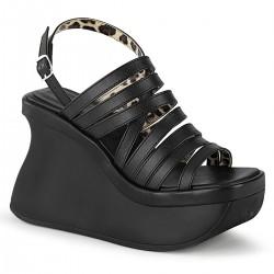 Sandale demonia stil gotic piele PACE 33