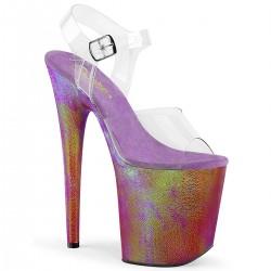 Sandale FLAMINGO 808 WR toc inalt papuci dansatoare