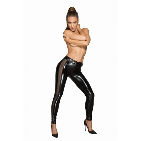 Leggings Tul aspect ud wetlook lenjerie de club