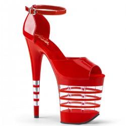 Sandale cu toc inalt papuci dans la bara FLAMINGO 889 LN