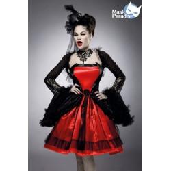Costum vampir fierbinte rochie halloween accesorii teatru 0043
