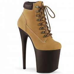 Botine FLAMINGO 800 TL 02 toc inalt papuci dansatoare