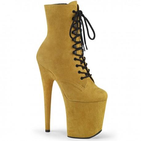 Botine FLAMINGO 1020 FS toc inalt papuci dansatoare