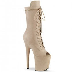 Botine FLAMINGO 1051 FS toc inalt papuci dansatoare piele