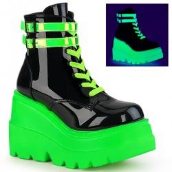 Ghete stil gotic talpa alba demonia verde neon SHAKER 52