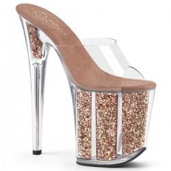 papuci cu platforma inalta dansatoare FLAMINGO 801 G