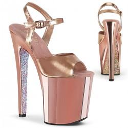 Sandale toc inalt papuci dansatoare XTREME 809 TTG