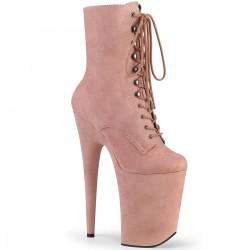 Botine videochat papuci dansatoare toc inalt INFINITY 1020 FS