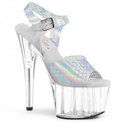 Sandale toc inalt papuci dansatoare ADORE 708 N-MS