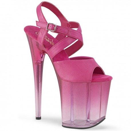 Sandale toc inalt platforma papuci dansatoare dans la bara FLAMINGO 822 T