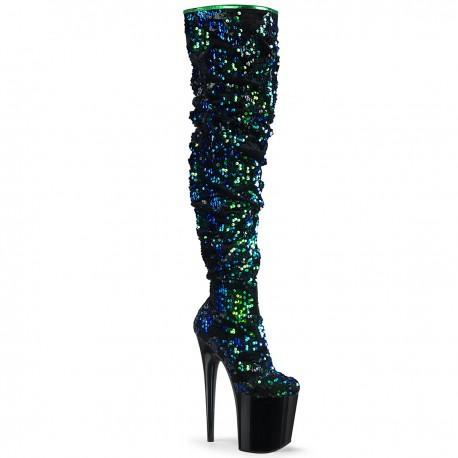 Cizme peste genunchi toc inalt papuci dansatoare FLAMINGO 3004