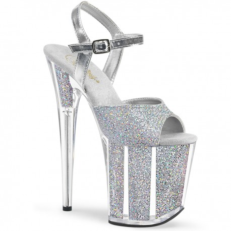 Sandale toc inalt papuci dansatoare FLAMINGO 810 G