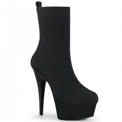 Botine toc inalt papuci dansatoare comode DELIGHT 102