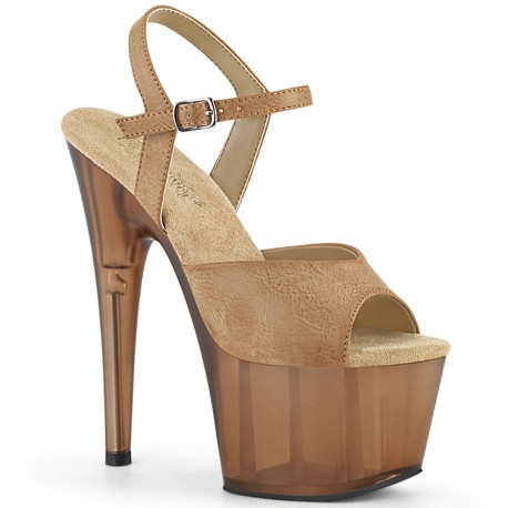 Sandale toc inalt papuci dansatoare hostess ADORE 709 T