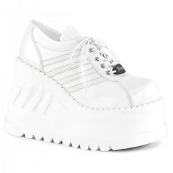 Pantofi Demonia talpa inalta stil gotic grunge STOMP 08