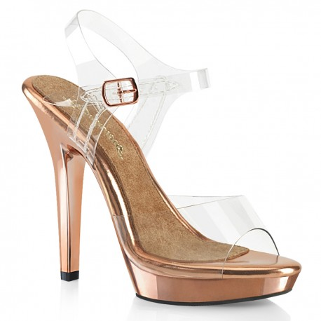 Sandale elegante comode platforma mica LIP 108