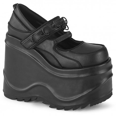 Pantofi demonia gotic grunge alternative WAVE 48