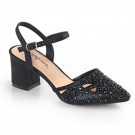 Pantofi cu toc gros comozi de nunta FAYE 06