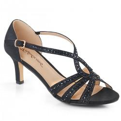Sandale de nunta cu toc mic comode MISSY 03