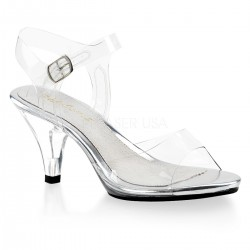 Sandale de mireasa concurs fitness marimi mari BELLE 308