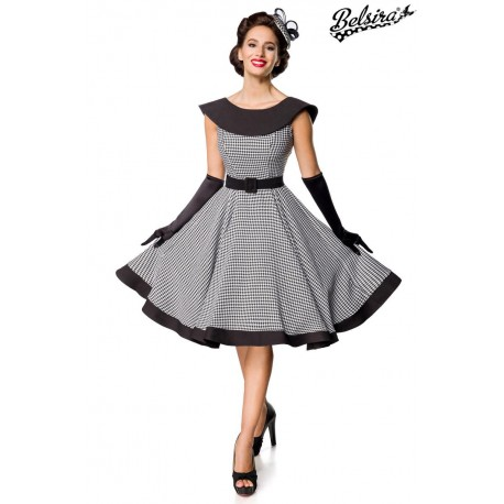 Rochie SWING Vintage pin up rockabilly cambrata