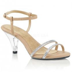 Sandale cu toc mic marimi mari BELLE 316