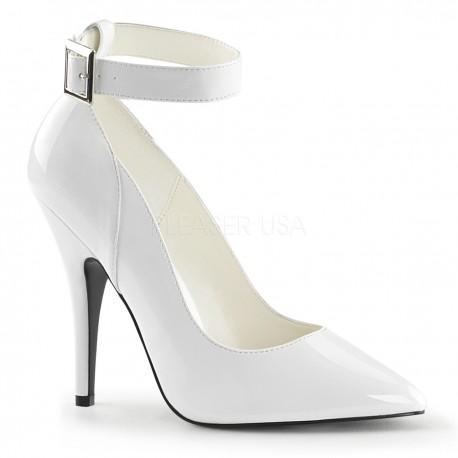 Pantofi de mireasa marimi mari stiletto comozi SEDUCE 431