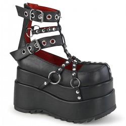 Pantofi demonia stil gotic grunge talpa lata BEAR 28
