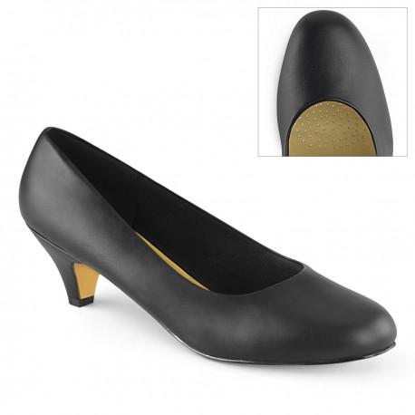 Pantofi toc mic marimi mari FEFE 01