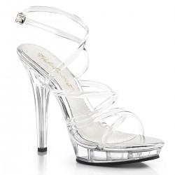 Saboti comozi eleganti toc inalt sandale fitness LIP 106