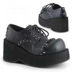 Pantofi stil gotic demonia punk talpa lata DANK 110